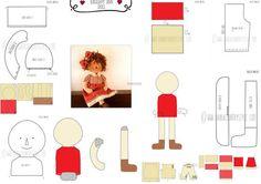 Patrón de costura PDF patrón de muñeca de tela patrón de