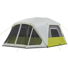 10 Person Instant Cabin Tent with Screen Room 14.5' x 14'