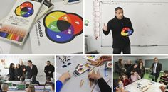 """ColorADD.Social  program in schools - Matosinhos colorblind screening Action and """" feel the colors """". There are now more than 10,000 screenings conducted and 10,000 ColorADD kits distributed throughout the country .  Colour is for All!!!"""