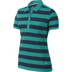 Dri-Fit fabric on this stylish looking womens dri-fit bold stripe golf polo shirt by Nick helps to wick away sweat to leave you feeling dry and comfortable Nike Womens Golf, Womens Golf Polo, Nike Golf, Bold Stripes, Golf Polo Shirts, Stylish, Fitness, Fabric, Mens Tops