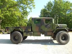 Custom 1971 M35A2 Crew cab with 2012 rebuild | C&C Equipment