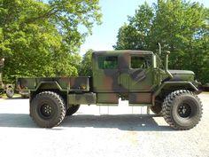 Custom 1971 M35A2 Crew cab with 2012 rebuild | C&C Equipment
