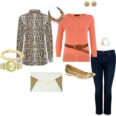 """""""semi-casual evening"""" by brandy-michelle-ott on Polyvore"""