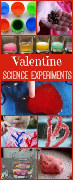 20 Valentine Science Experiments. Learn about the human heart, experiment with candy and much more. | Creekside Learning