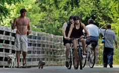 Best Bicycle Trail: Olentangy and Scioto trails