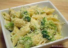 Easy 20 Minute Broccoli Alfredo Pasta