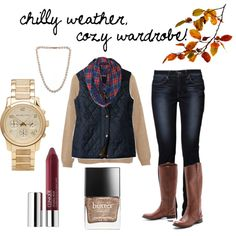 """""""chilly weather, cozy wardrobe"""" by lydia-brewster on Polyvore"""