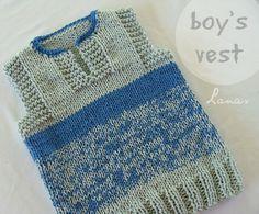 Lanas de Ana: Vest: for Boy and Girl