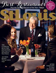 October St. Louis Magazine issue featuring 2014 Best Restaurants!