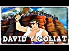 Caricaturas Cristianas Para Niños En Español Completas - David Y Goliat - YouTube