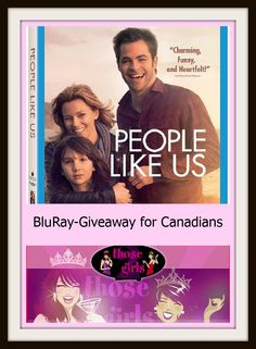 Stuff to do with your kids in Kitchener Waterloo: People Like Us Blu Ray Contest For Canadians. Just click on the pic to be taken to the contest page!
