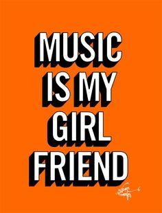 music is my girl friend – willian sanfer