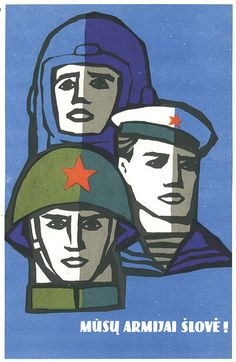 Extensive collection of Soviet posters by Flickr user bpx