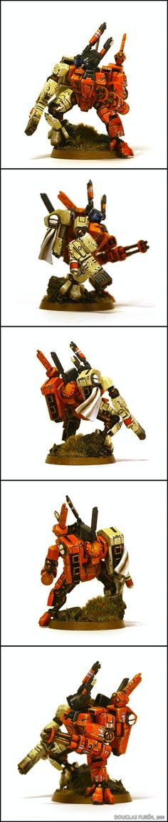 Crisis Battlesuit, Hunter Cadre, Sept, Tau, Tau Empire