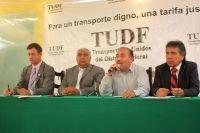 INCREMENTO GENERAL DE UN PESO A LA TARIFA DE TRANSPORTE EN EL DF; PROMETEN PROCESO DE CAMBIO GRADUAL