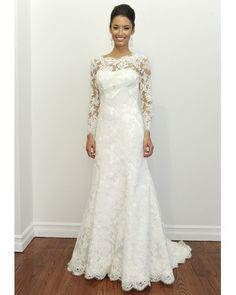 I am in love with lace and vintage looking wedding dresses!