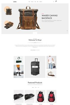 """Coro is a clean, minimal, creative and modern eCommerce theme for WordPress platform. Powered by WordPress' most popular eCommerce platform """"WooCommerce"""", Coro can be the tool for building your new eCommerce website. Minimal Web Design, Web Ui Design, Wordpress Theme Design, Web Design Services, Ecommerce Platforms, Landing Page Design, Website Themes, Website Design Inspiration, Popular"""
