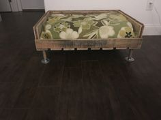 Up cycled pallet bed we make