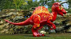 Pachyspinosaurus Aegyptiacus. Melanistic Animals, Lego Jurassic World, Lion Sculpture, Youtube, Room, Dinosaurs, Bedroom, Rooms, Youtubers