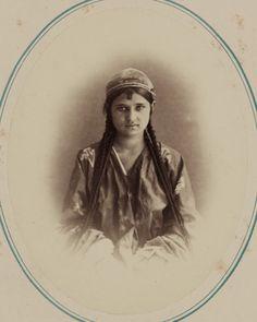 Tipos de nacionalidades en el krai de Turquestán. Mujeres tayikas. Maina Ai — Visor — Biblioteca Digital Mundial