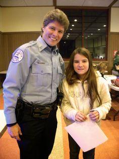 Girl Scout Alumna Profile: City of Edwardsville Officer Joy Davis.