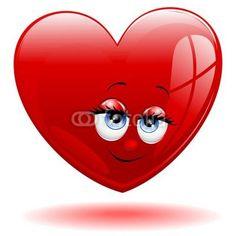 Cute Love the eyes! Valentines Greetings, Love Valentines, Cartoon Smile, Emoji Movie, Eric Thomas, Animated Dragon, Heart Images, Tatty Teddy, I Love Girls