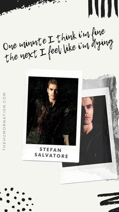 7 Amazing Stefan Salvatore Lock Screen Quotes That Will Rock Your Phone - Page 2 of 2 - Make The World Smile- Humor Nation Vampire Diaries Poster, Vampire Diaries Quotes, Vampire Diaries Wallpaper, Vampire Diaries Cast, Vampire Diaries The Originals, Paul Wesley Vampire Diaries, Damon Salvatore Vampire Diaries, Stefan Salvatore Quotes, Estefan Salvatore