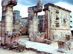 The Mayan Warrior's Temple - Yucatan, Mexico
