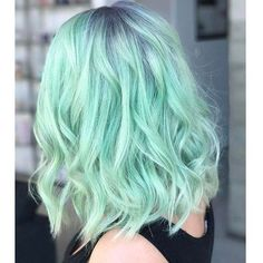 35 Cool Hair Color Ideas to Try in 2017 - theFashionSpot ❤ liked on Polyvore featuring accessories and hair accessories