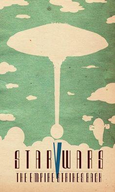 Star Wars minimalist posters!