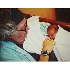 Keith and his grandson, Otto. 2014