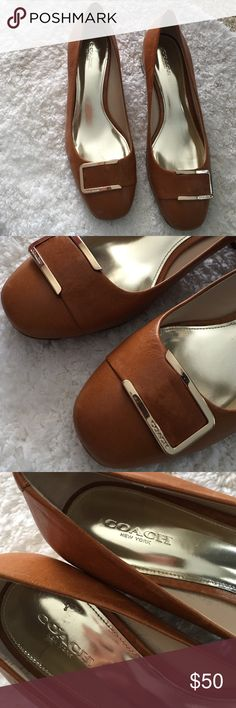Coach Shoes For Woman Coach Shoes For Woman in Perfect Condition Gently Used Genuine Leather Coach Shoes Flats & Loafers