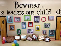 Leader in Me wall of leaders-Bowmar Elementary Vicksburg, MS