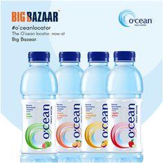Beat the heat this summer with O'cean Fruit Water, now available at Big Bazaar !  #OceanIndia #PlainWaterIsSo2015 #OceanFruitWater #OceanLocator #OceanPitstop #summer16 #Bigbazar