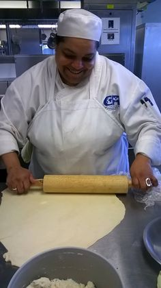 rolling my pie crust  for my Buttermilk pie