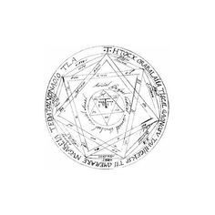 Devils Trap (Symbol) ❤ liked on Polyvore featuring fillers, supernatural, backgrounds, drawings, circles, doodles, text, effects, quotes and round