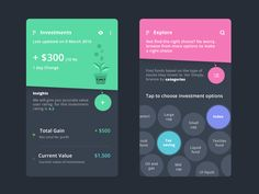 Investments with explore by Prakhar Neel Sharma - Dribbble