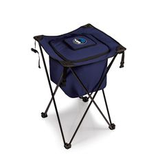The Dallas Mavericks Sidekick Cooler with stand is an awesome tailgating cooler