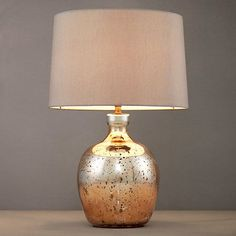 Buy John Lewis Tabitha Copper Table Lamp Online at johnlewis.com