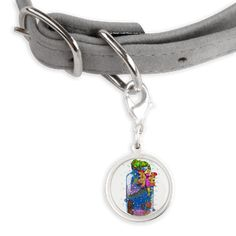 Pet Tags www.teeliesfairygarden.com This is the perfect cool tag for your best pet. #fairypettag