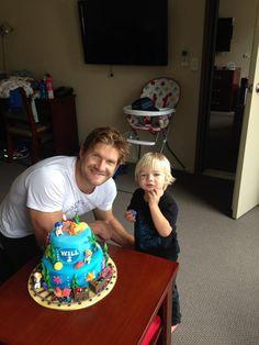 Shane Watson with his son Will :) Shane Watson, Crickets, Shark, Football, Boys, Life, Soccer, Baby Boys, Futbol