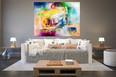 Items similar to Large Painting on Canvas,Original Painting on Canvas,modern wall canvas,abstract originals,huge canvas painting on Etsy Large Abstract Wall Art, Large Wall Art, Large Art, Large Canvas, Office Wall Art, Home Decor Wall Art, Hallway Art, Texture Painting, Large Painting