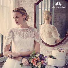 Shop the Bridal Collection on my c+i boutique! Shop 24/7 online here https://www.chloeandisabel.com/boutique/ursulaball #Bride #WeddingWednesday