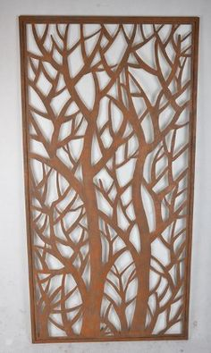 Tree Branches Laser Cut Screen