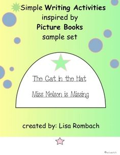 Great picture books can be the inspiration for a simple writing activity in your grade 1 or 2 classroom.