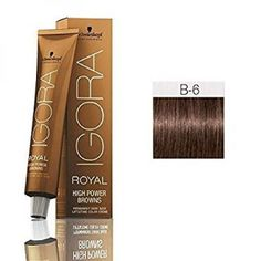 Schwarzkopf Professional Igora Royal High Power Browns Brown Violet, Ounce ** Click image for more details. (This is an affiliate link) Red Hair Color, Brown Hair Colors, Igora Hair Color, Dnd Gel Polish, Hair Color Formulas, Schwarzkopf Professional, New Haircuts, How To Make Hair, Hair Care
