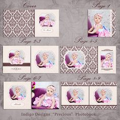 10x10 Album Templates, Photobook Photoshop Templates, Priceless ...