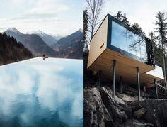 Dolomites Road Trip Italie Miramonti Boutique Hotel Infinity Pool