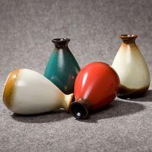 Hot Sale Handcraft Painted Pottery Vase Classic Ceramic Vase Antique Glazed Ceramic Crafts Small Craft Vase Home Decor / Gifts(China (Mainland))