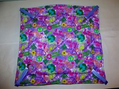 "Save Earth Hanging Bed/ Hammock Guinea Pig Ferret Rat Sugar Glider 17"" x 18''"